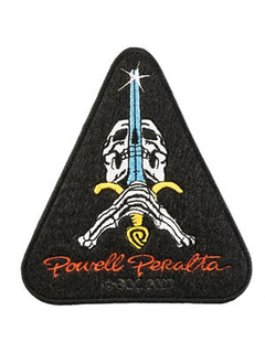 Powell & Peralta  Skull & Sword patch