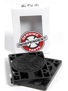 Independent Riserpads 1/4 pair black