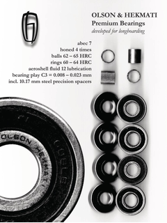 Olson & Hekmati Premium Bearings