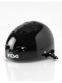 TSG Skate/BMX Helm L/XL Injected Black