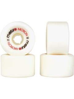 Metro  Motion Wheels 80a White