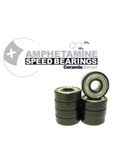 Amphetamine  Ceramic Bearings - Silver