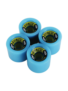 Divine Urethane Co Road Rippers 75mm 82a Cyan
