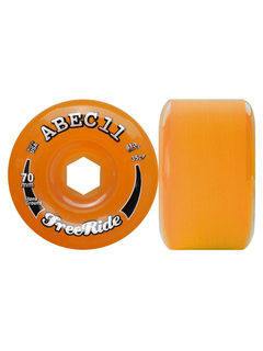 Abec11 StoneGround FreeRide Wheels 81a Amber