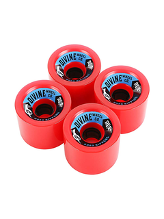 Divine Urethane Co  Road Rippers 70mm 78a Red