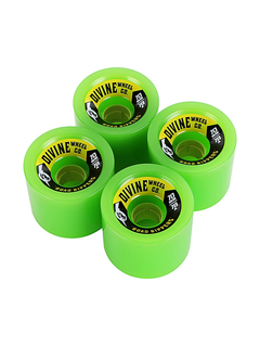 Divine Urethane Co  Road Rippers 70mm 78a Green