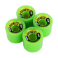 Divine Urethane Co  Road Rippers wheels 70mm Green 78a