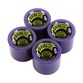 Divine Urethane Co  Road Rippers wheels 70mm Purple 78a