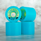 Divine Urethane Co  Road Rippers 70mm 78a Cyan
