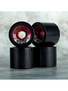 Divine Urethane Co  Road Rippers wheels 70mm Black 82a