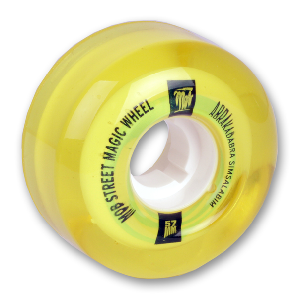 Mob Street Magic Cruiser Wheels Yellow