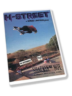 H-Street Shackle Me Not DVD