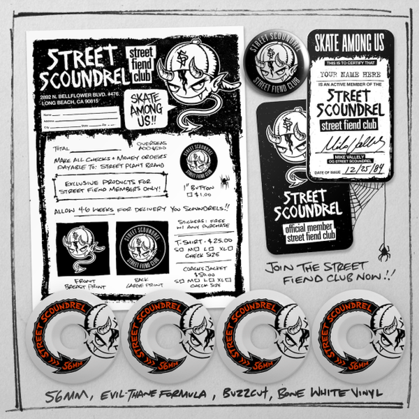 Street Plant Street Scoundrel Wheels 56mm