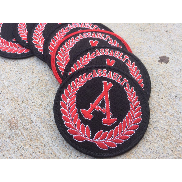 Assault Skates BCH Logo patch