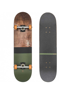 Globe G2 Half Dip 2 Dark Maple Skateboard complete 8