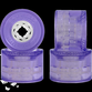 Seismic Speed Vent Wheels Clear 77mm 79a Clear Purple