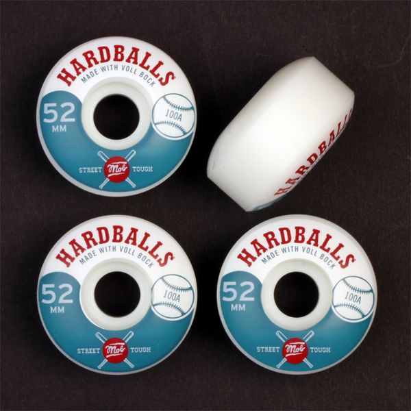 Mob Hardballs Wheels 52mm 100a