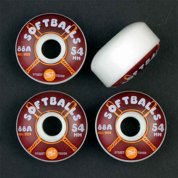 Mob Softballs Cruiser Wheels 54mm 88a