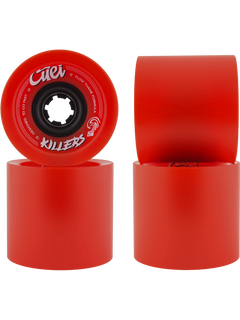 Cuei Killers Wheels 74mm 80a Red