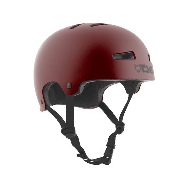 TSG Evolution Skate/BMX Helm satin oxblood