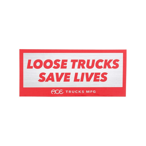 Ace trucks loose trucks sticker
