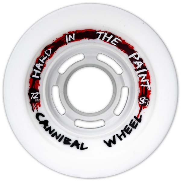 Zak Maytum Hard in the Paint Wheels 72mm / 80a Cannibal Shape