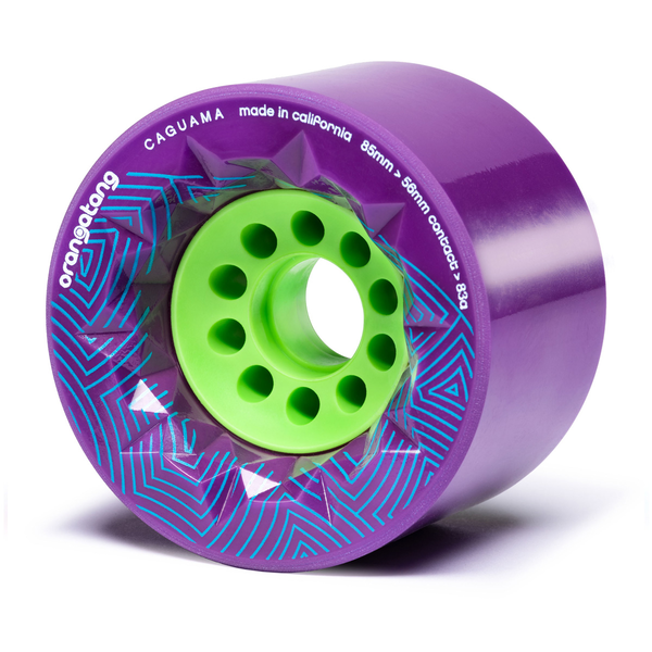 Orangatang Caguama 85mm 83a Purple