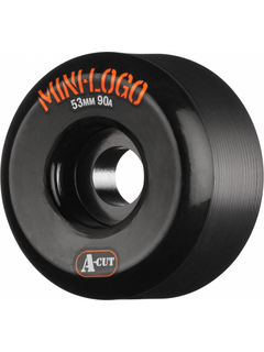 Mini Logo Wheels A-Cut 53mm 90a black