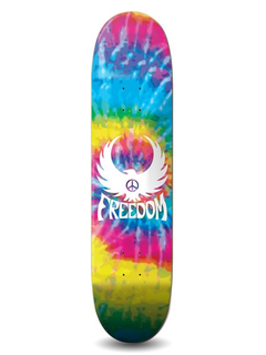 Freedom Skateboards Freebird Tiedye Deck