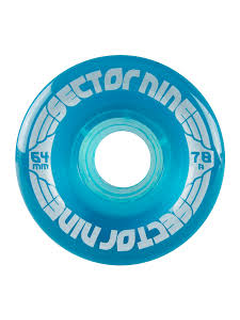Sector9 Nineballs Wheels 64mm 78a blue