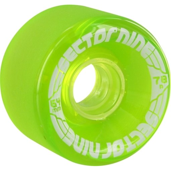 Sector9 Nineballs Wheels 64mm 78a green
