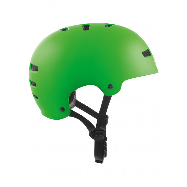 TSG Evolution Helm satin lime green