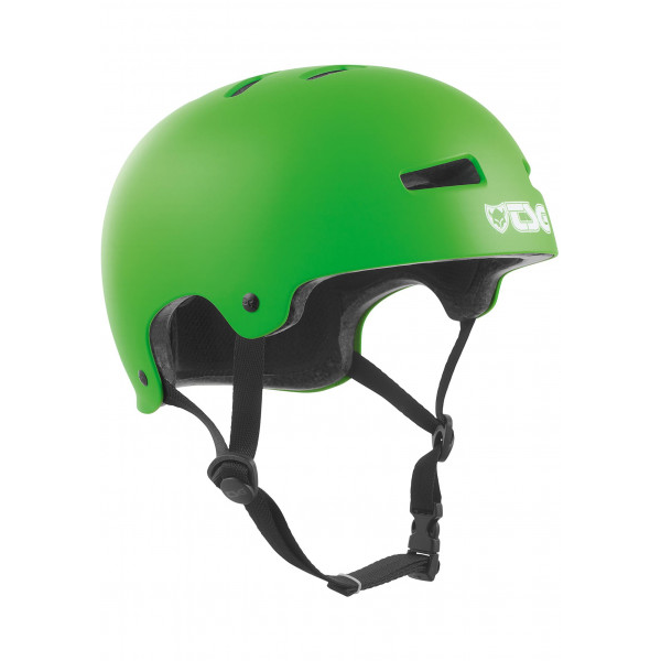 TSG Evolution Skate/BMX helmet satin lime green