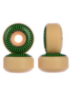 Spitfire Formula 4 Classic Wheels Green 52mm 101a