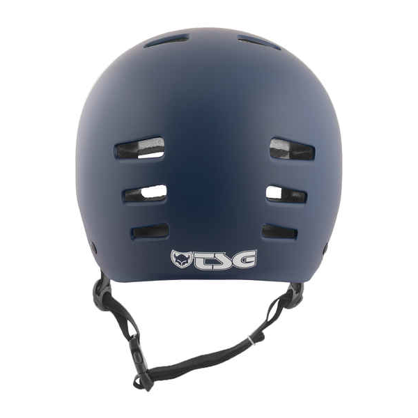TSG Evolution Skate/BMX Helm satin blue L/XL 57-59cm