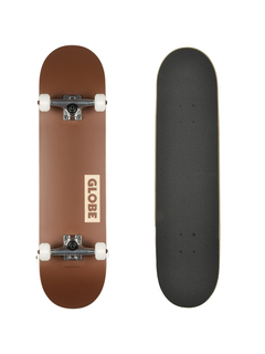Globe Goodstock Brown Komplett Skateboard 8.5