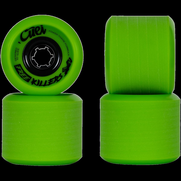 Cuei Free Killers Wheels 73mm 77a Green