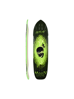Moonshine Outlaw Black/Green Deck