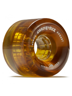Arbor Bogart wheels 61mm 78a clear/brown