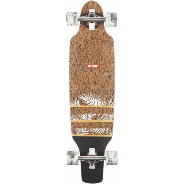 Globe Spearpoint Cork/Agave Mini Longboard 33