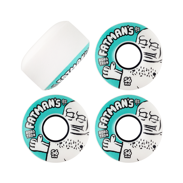 Robotron Fatman Cruiser Wheels 56mm 85a