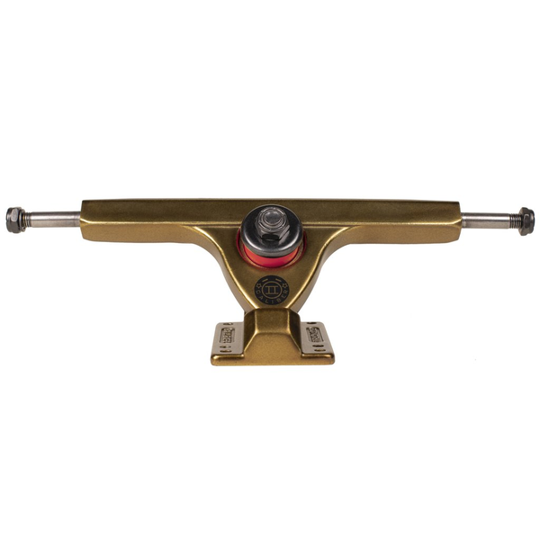 Caliber Forty-Four Trucks II Gangster Gold with Zak Maytum Plug Bushings
