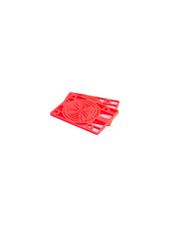 Independent Riserpads 1/8 Paar red