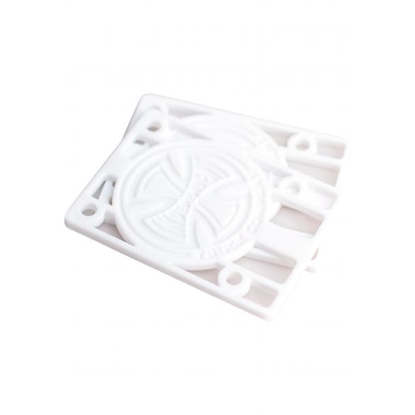 Independent Riserpads 1/8 Paar white
