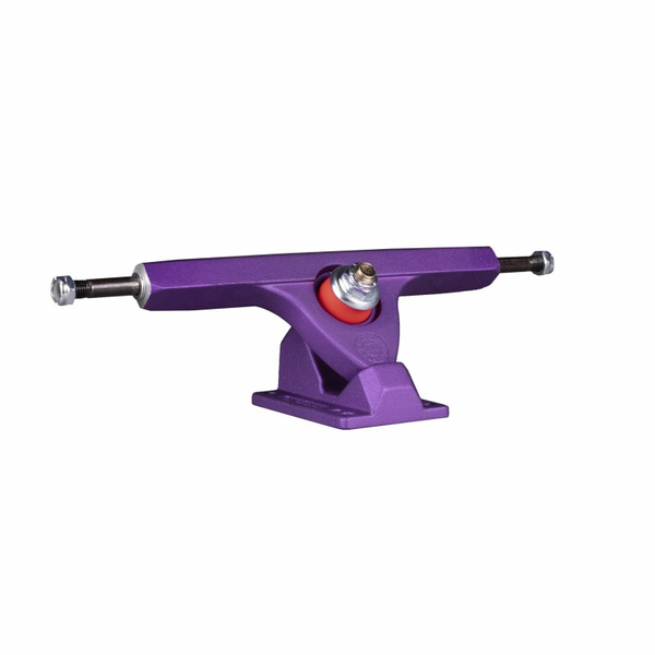 Caliber Fifty Trucks II 184mm Stone Plum with Zak Maytum Plug Bushings