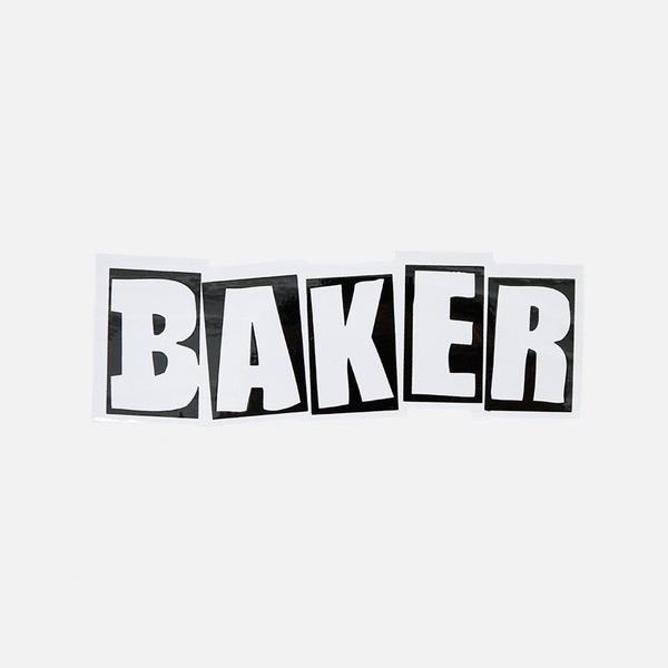 Baker Skateboards Logo Sticker 8.5