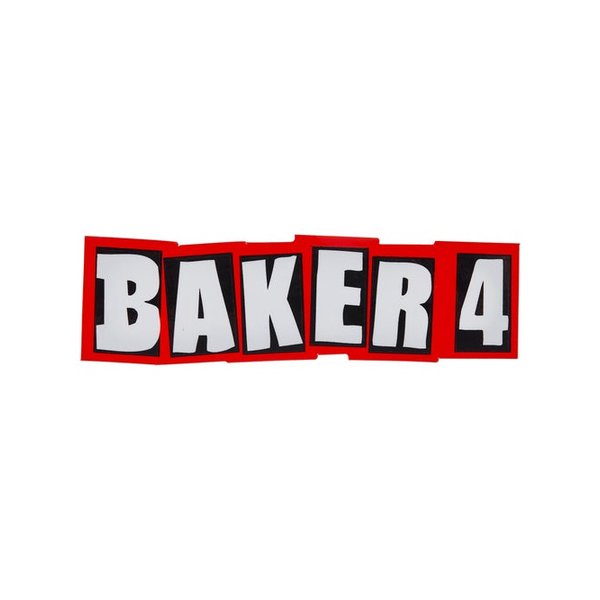 Baker Skateboards Baker 4 Sticker 5
