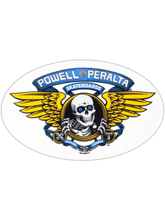 Powell & Peralta Winged Ripper Sticker blue