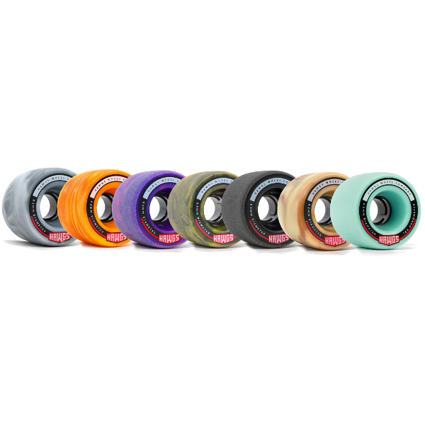 Hawgs Fatties Wheels 63mm Grey Swirl