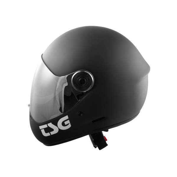 TSG Pass Fullface Helmet Solid matt black Large